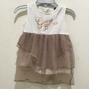 Guess Jeans baby girl dress, 12 months